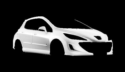 Цвета кузова 308 GTi